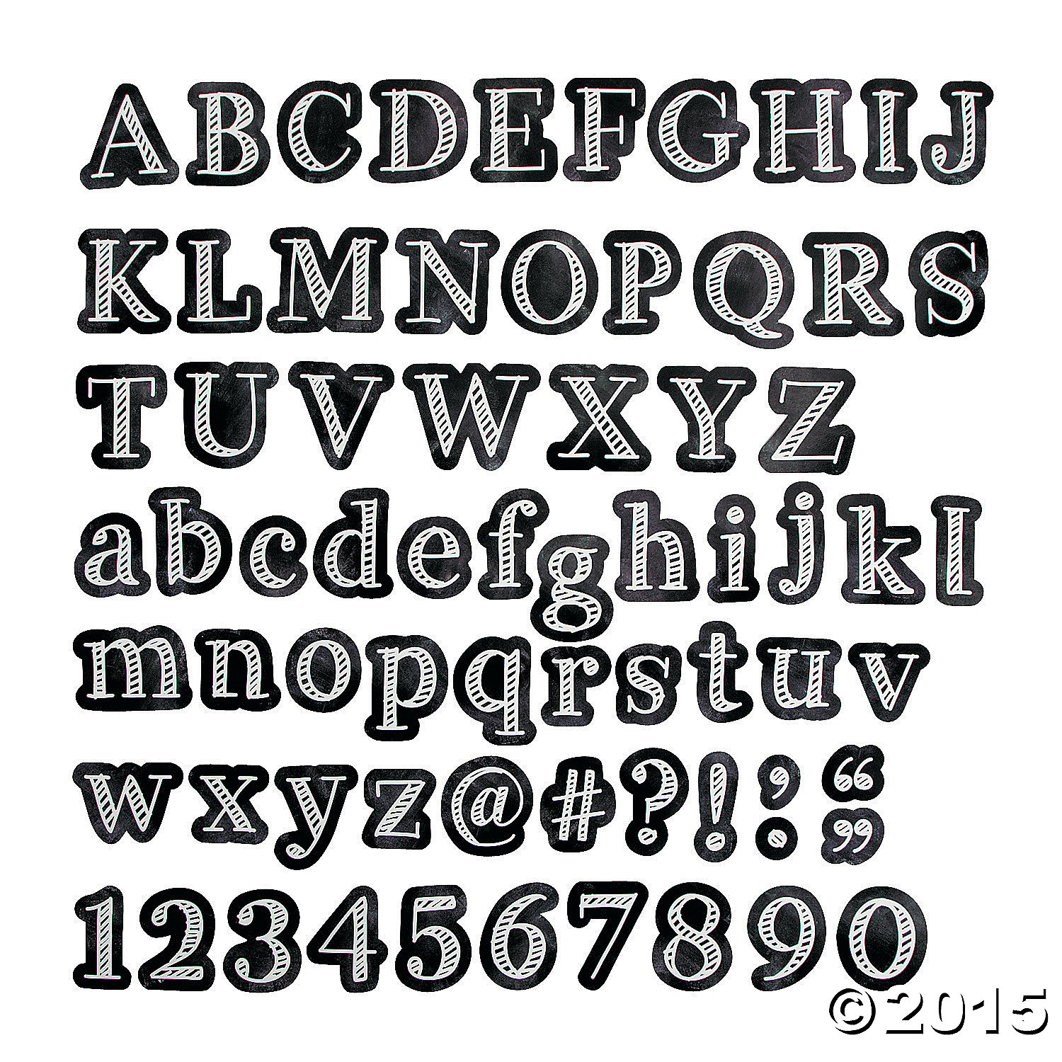 picture about Bulletin Board Letters Printable identified as Chalkboard Bulletin Board Letters - 211 computer systems. Bash Materials