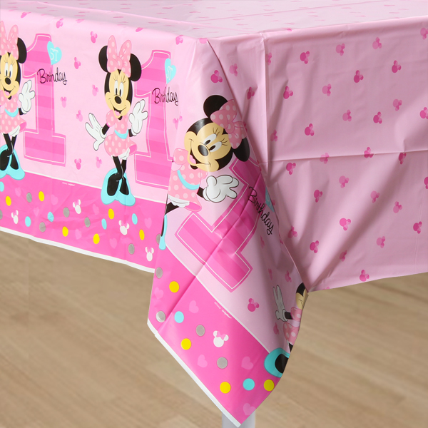 Minnie 1st Printed Plastic Tablecover