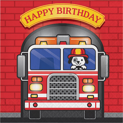 Fire Truck Firefighter Party Supplies Party Supplies Canada Open