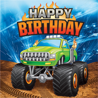 Monster Truck Birthday Party Supplies Party Supplies Canada Open A