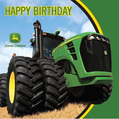 30 Off John Deere Party Happy Birthday Lunch Napkins 16 Pk