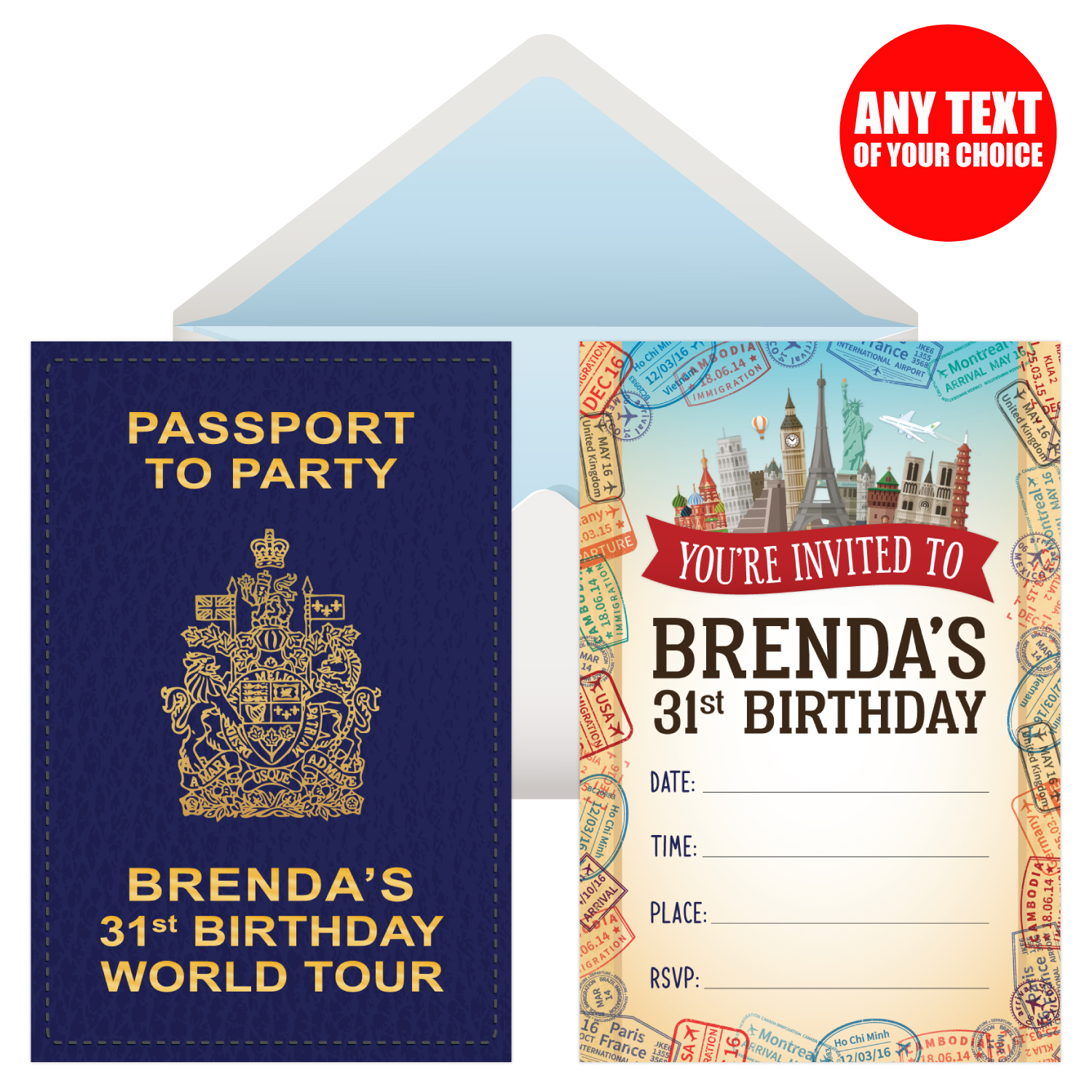Travel Around The World Party Supplies Party Supplies Canada Open