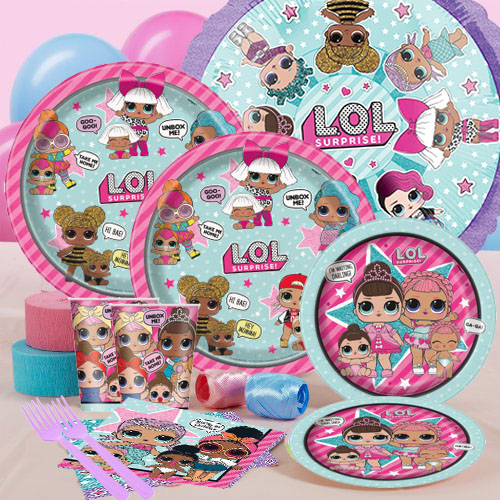 LOL Surprise Birthday Party Supplies Party Supplies Canada - Open A ... 953c90a865