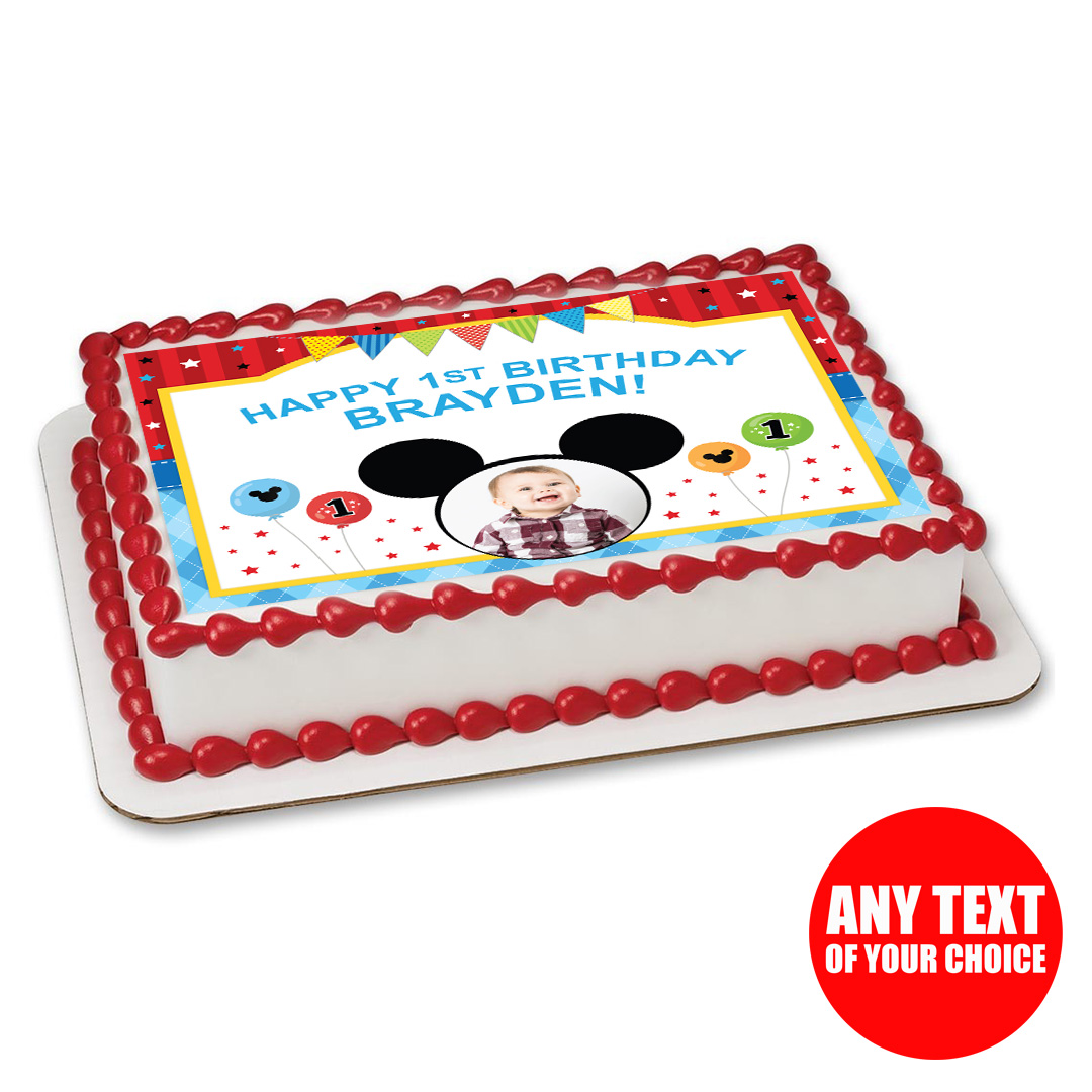 Mickey Mouse 1st Birthday Party Supplies Party Supplies Canada