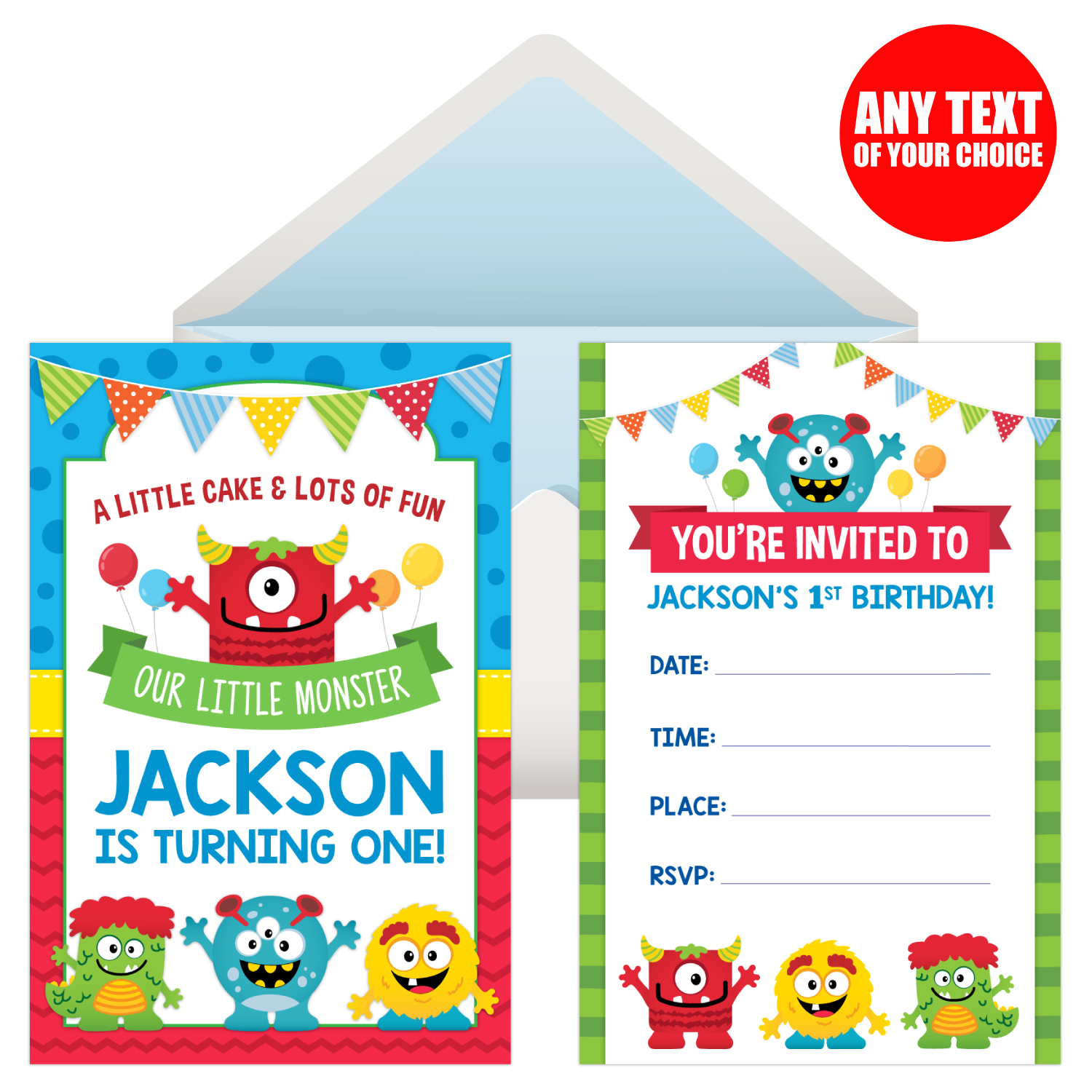 Mini Monster 1st Birthday Party Supplies Party Supplies Canada ...