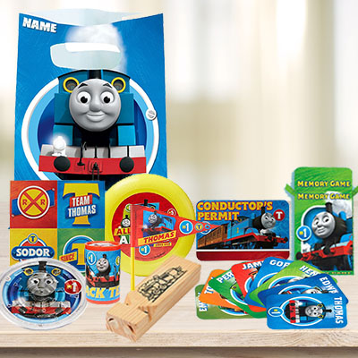 25 OFF Thomas Loot Bag With 8 Toys