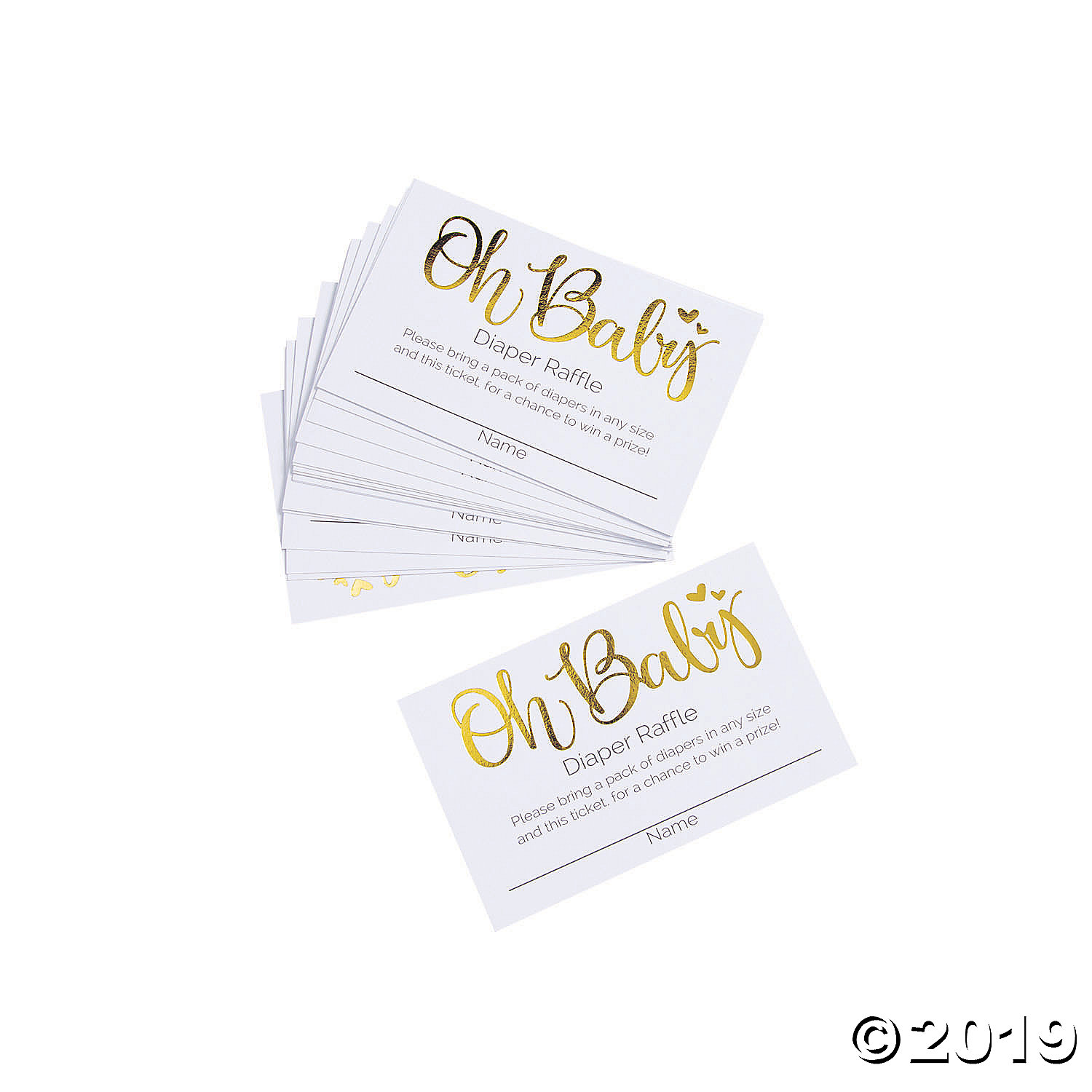** BABY SHOWER 48 PRIZE TICKETS 16 SHEETS GAME GENDER REVEAL PARTY RAFFLE