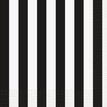 Black And White Striped Party Supplies Party Supplies