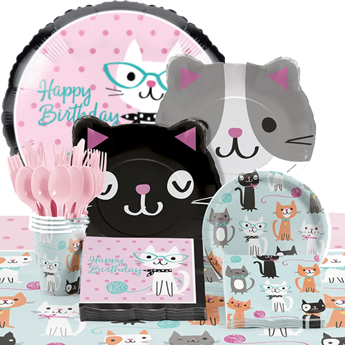 50 OFF Cat Party Deluxe Pack For 16