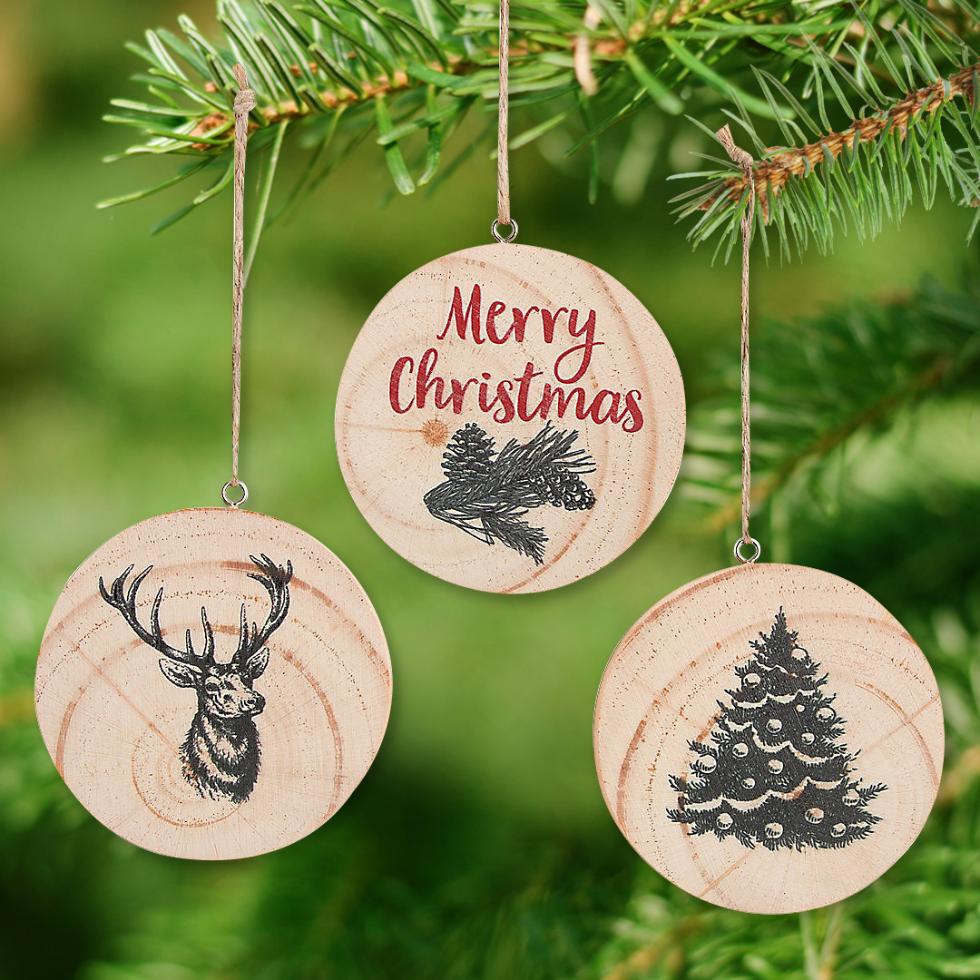Generic 5B Celebrations Woodland Animals Christmas Coloring Stickers Large 3 Holiday Stickers to Color Great Kids Christmas Craft
