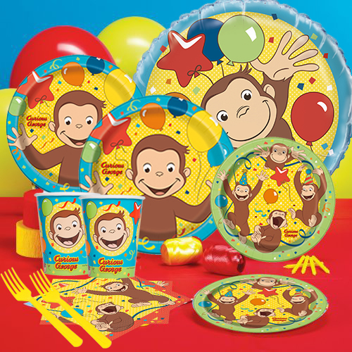 50 Off Curious George Party Pack For 16