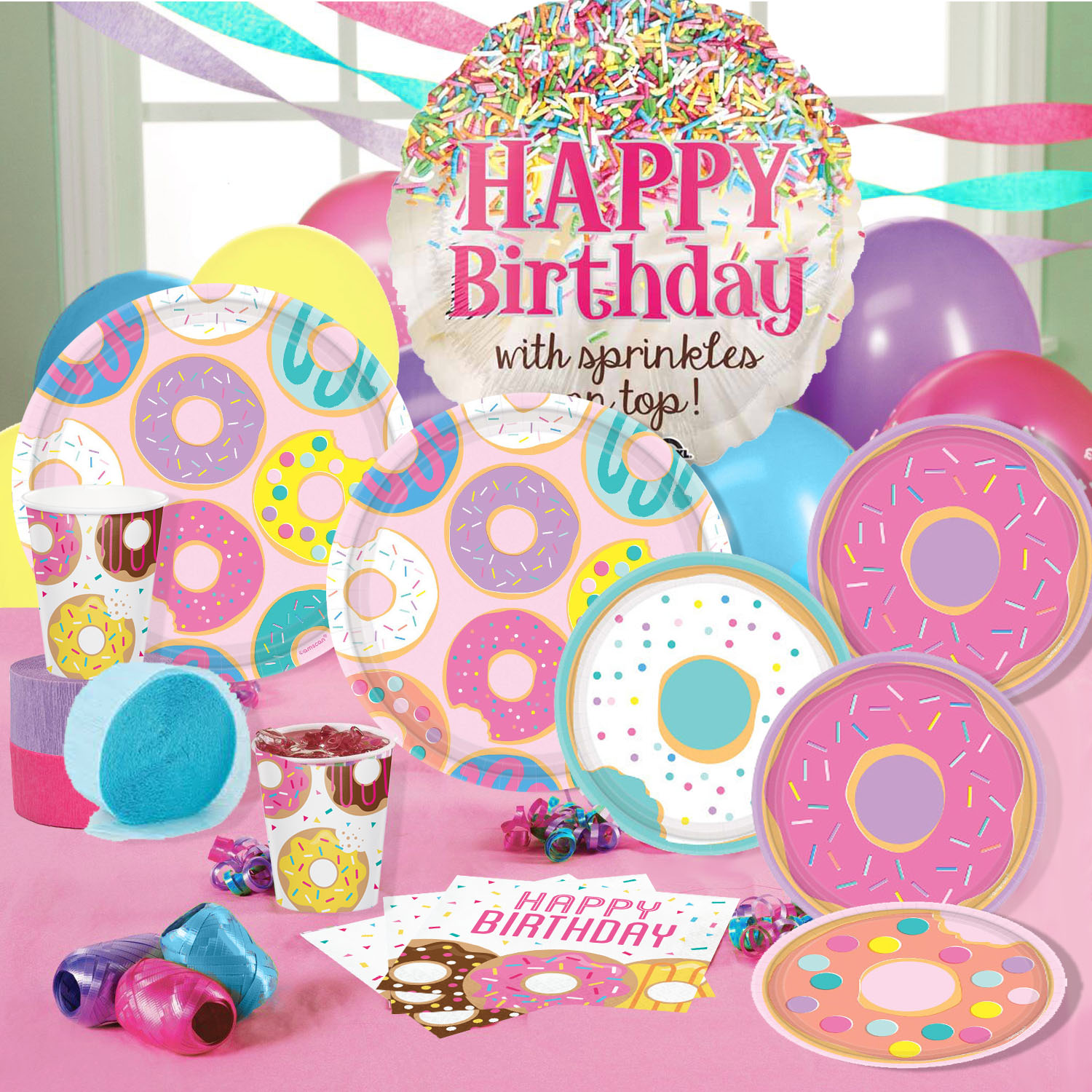 24 pc Donut Sprinkles Pencils /& 24 Donut Shaped Notepads Party Bundle Happy Deals~ Donut Party Notepads and Pencils Set
