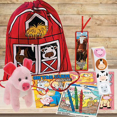 30 OFF Farm Backpack With Toys