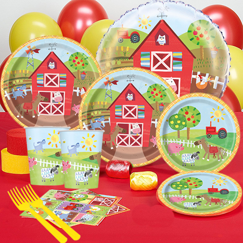 50 OFF Farm Pals Party Pack For 16