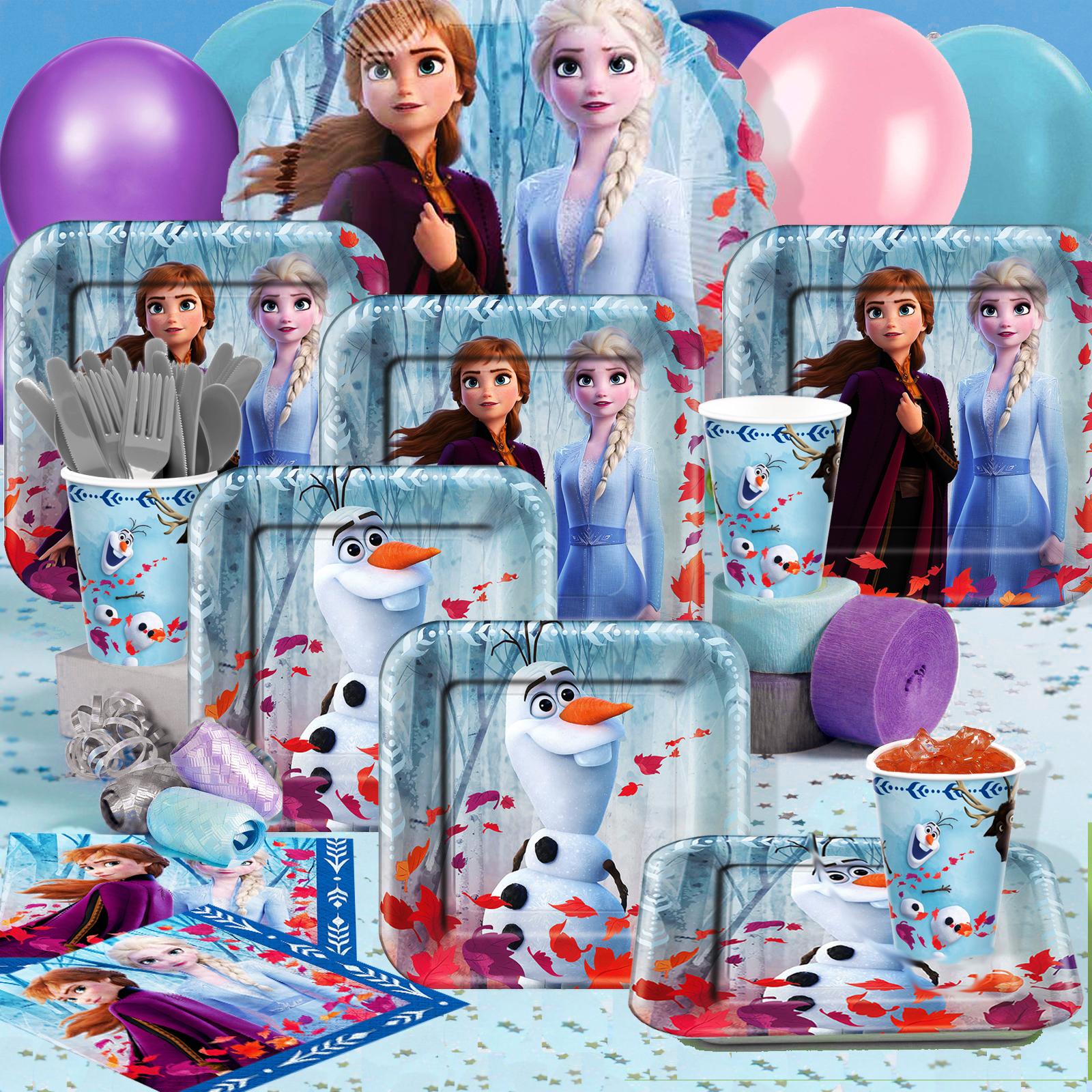 Frozen 2 Lollipops Party Bag Fillers Dark Themed Pack Of 6