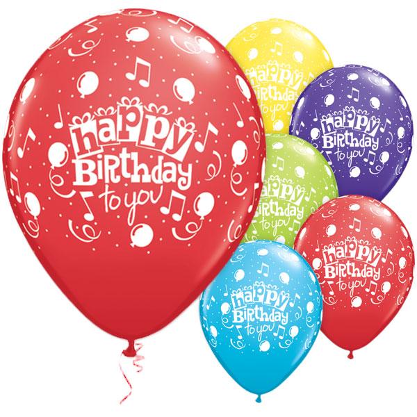 Birthday latex balloon pic 590