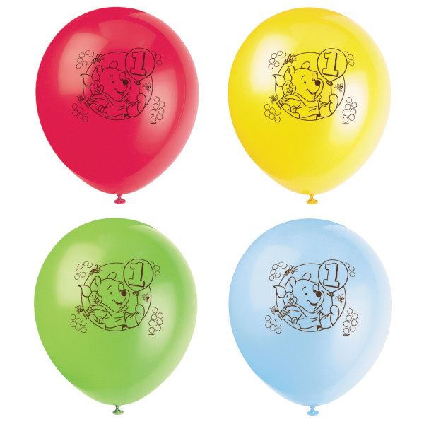 70 OFF Pooh Large Latex Balloons