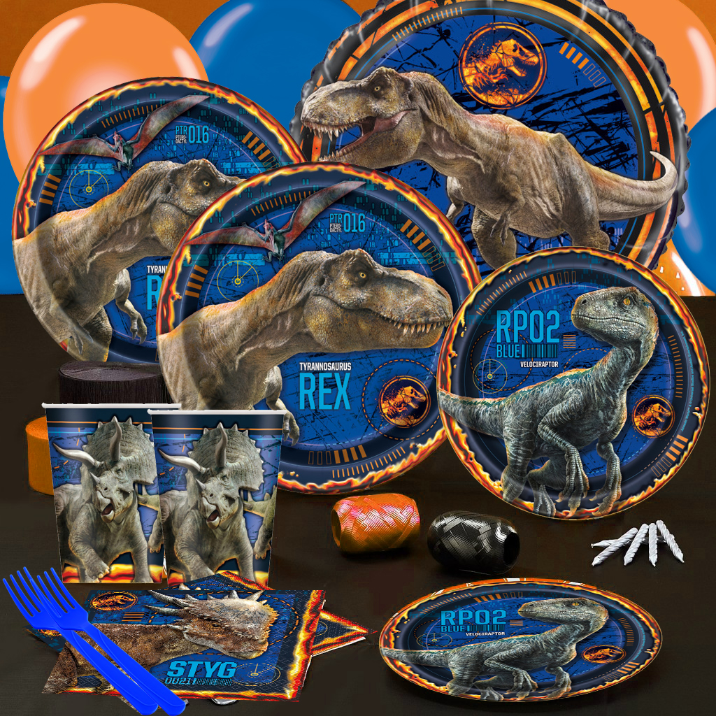 Jurassic World 2 Birthday Party Supplies Party Supplies