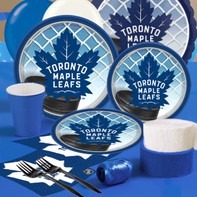 f937bdd9a57 Toronto Maple Leafs Party Supplies Party Supplies Canada - Open A Party