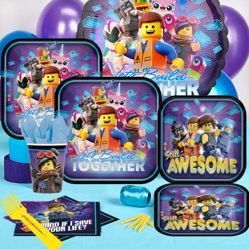 50 OFF Lego Movie Deluxe Party Pack For 8