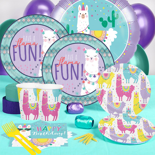 46c7bcd7aafb3 Llama Birthday Party Supplies Party Supplies Canada - Open A Party