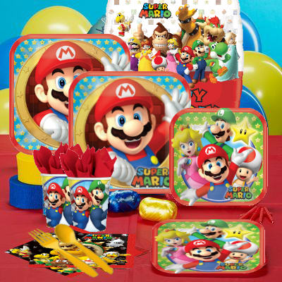 Super Mario Birthday Party Supplies Party Supplies Canada