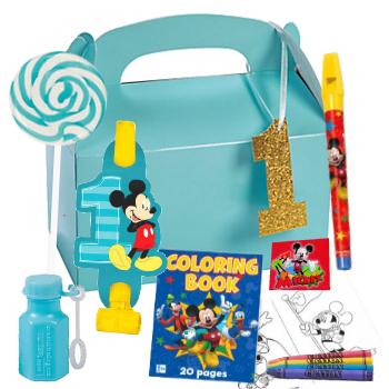 Mickey 1st Birthday Loot Box W Toys