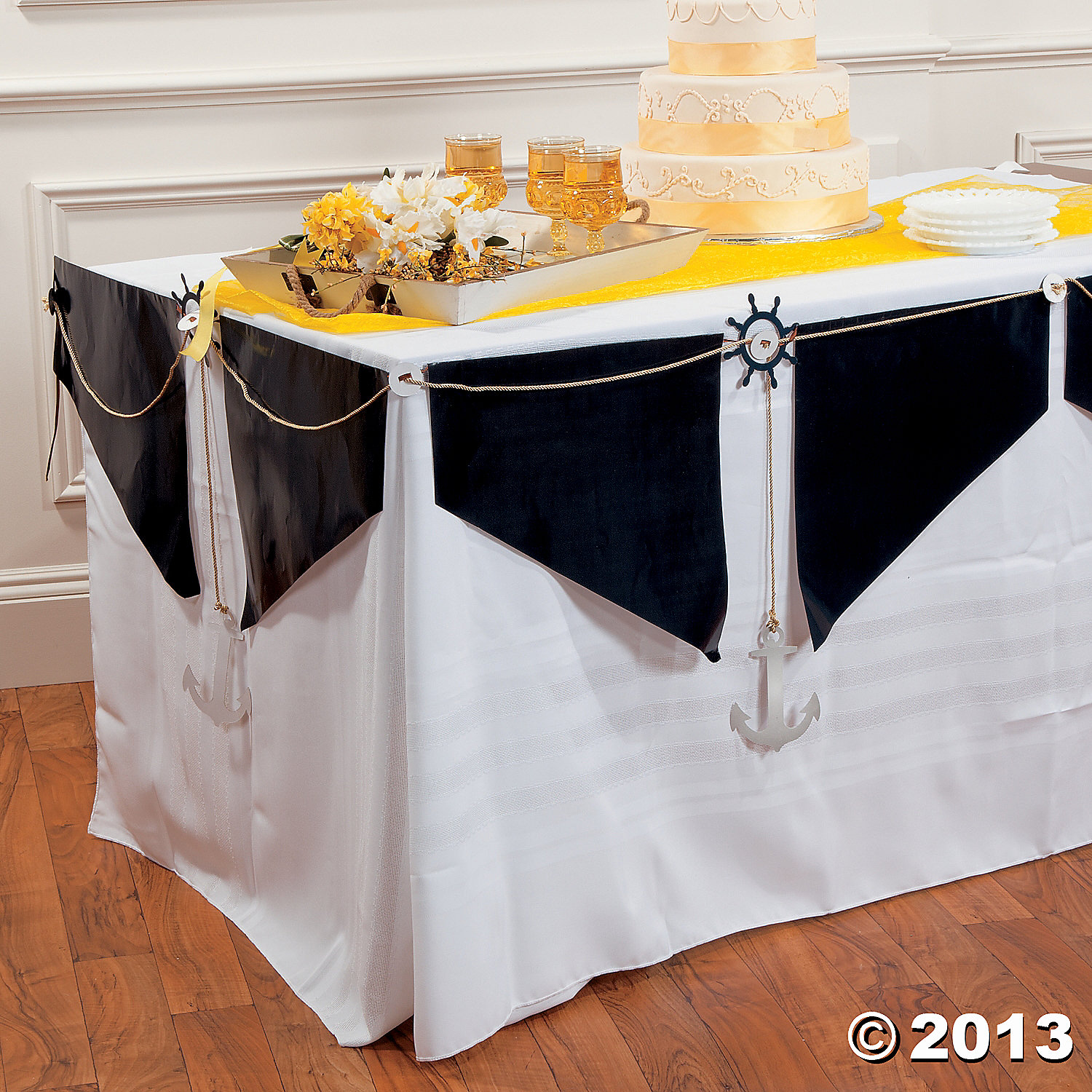 Nautical Table Garland Party Supplies Canada Open A Party