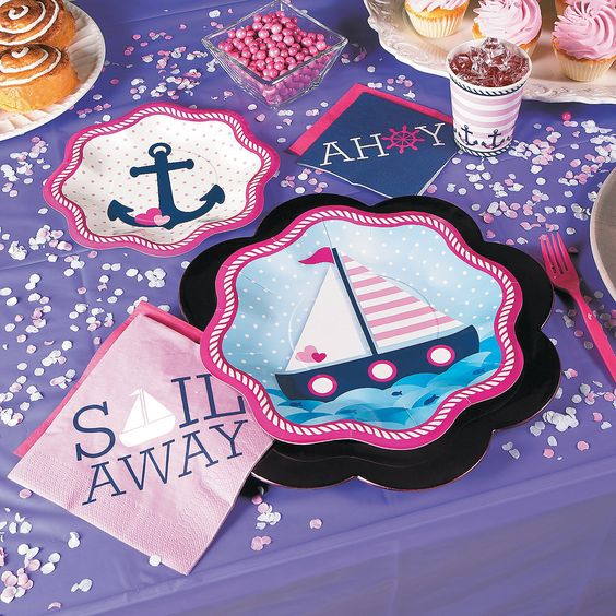Nautical Girl Party Pack For 16