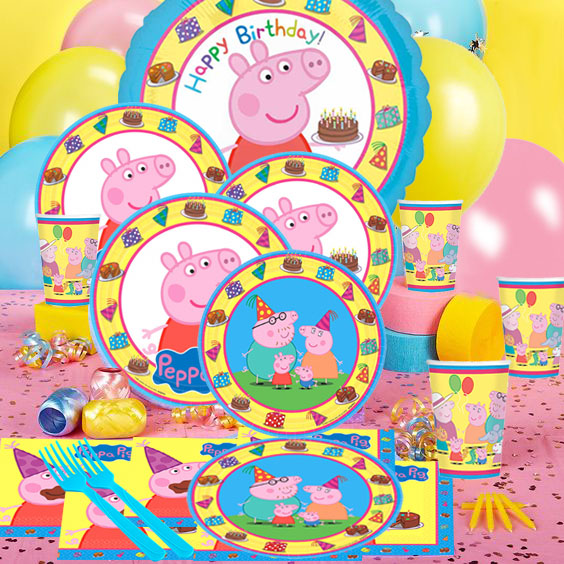 50 OFF Peppa Pig Super Value Party Pack For 16