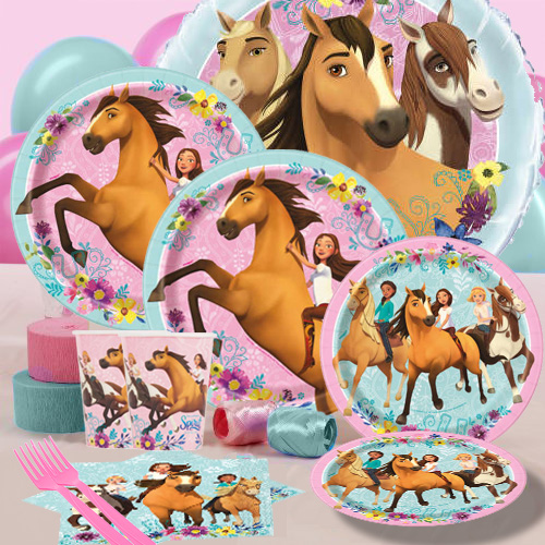 Kids' Crafts Roll of 100 Mare Horse Farm Animal Stickers Birthday