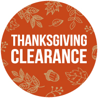 Thanksgiving & Fall Clearance