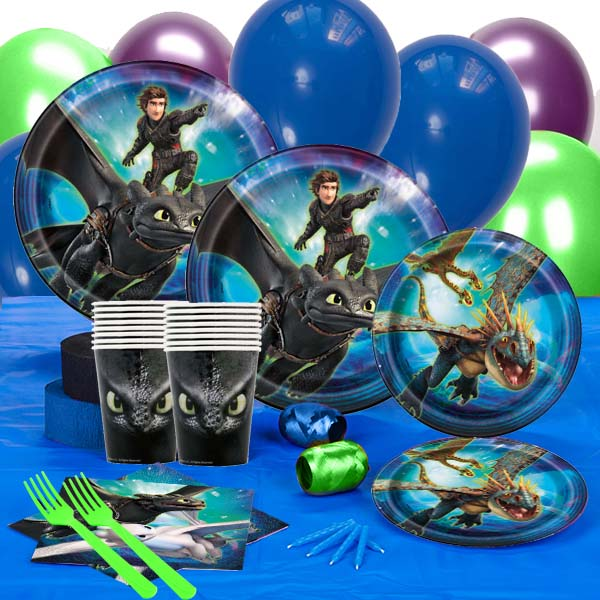 How To Train Your Dragon 3 Birthday Party Supply Decoration DELUXE Kit