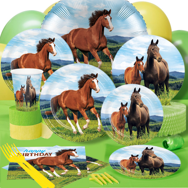 50 OFF Horse And Pony Deluxe Party Pack For 8