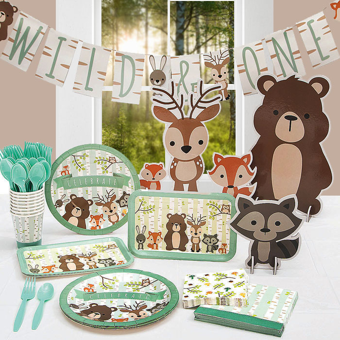 First Birthday Favors 1st Birthday Girl Birthday Favors Woodland Fox First Birthday Favors Birthday Party Candy Tins Woodland Birthday