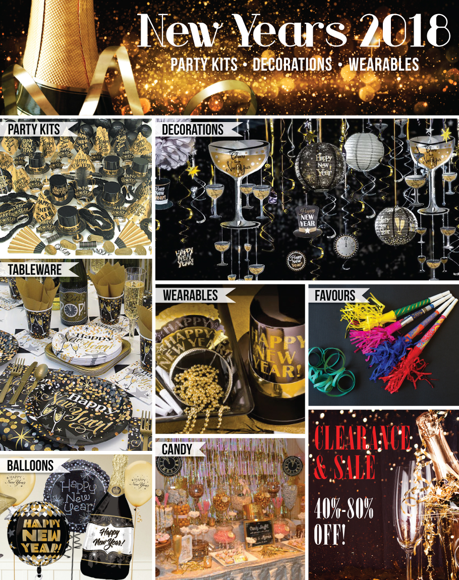New Years Eve Party Supplies Canada - Open A Party