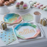 Pastel and Gold Baby Shower
