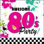 1980's (Eighties) Decor & Party Supply