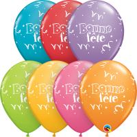 Foil and Latex French Balloons