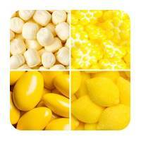 Yellow Coloured Candy