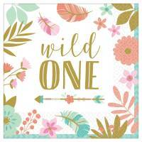 Wild One Boho Birthday Party Supplies