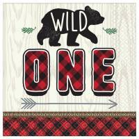 Wild One Lumberjack Party Supplies