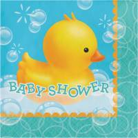 Ducky (Duckie) Baby Shower Party Supplies