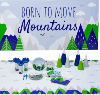 Born to Move Mountains Baby Shower