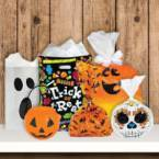Halloween Treat Bags, Boxes and Pails