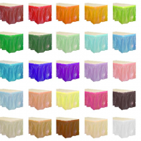 70% OFF: Solid Colour 14Ft Table Skirts