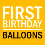 1st Birthday Party Balloons