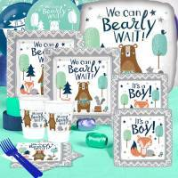 *Woodland Boy Baby Shower Supplies
