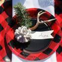 Buffalo Plaid Winter Wedding