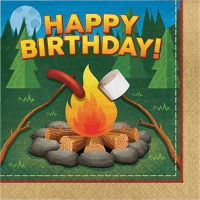 Camping Themed Birthday Party Supply
